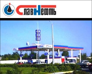 Сеть автозаправочных станций Славнефть в Москве