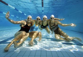 Где заняться плаванием в Москве?