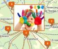 Сеть магазинов Детский мир в Москве и Московской области