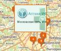 Аптечная сеть ИФК в Москве и Московской области