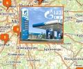 Сеть АЗС Газпромнефть в Москве и Московской области