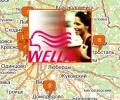 Сеть салонов красоты Wella в Москве и Московской области