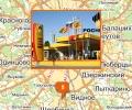 Сеть автозаправочных станций Роснефть в Москве