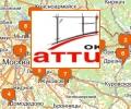 Офисы продаж Окна Аттик в Москве и Московской области