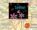 Магазины женской одежды Befree в Москве и Московской области