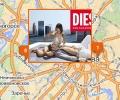 Магазины одежды Diesel в Москве и Московской области