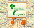 Сеть аптек Асна в Москве и Московской области