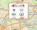 Автосалоны Зенит-Авто в Москве и Московской области