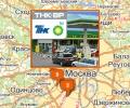 Сеть автозаправочных станций ВР в Москве
