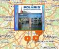 Магазины Polaris в Москве и Московской области
