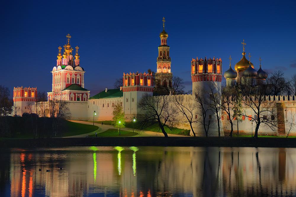 Обзор достопримечательностей Москвы.