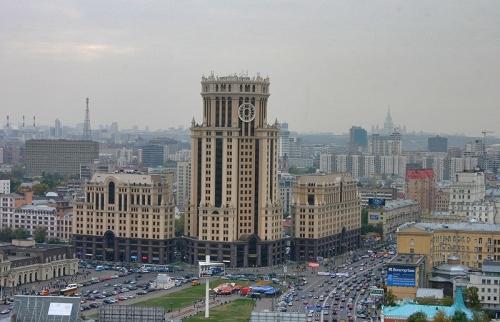 Павелецкая площадь Москвы
