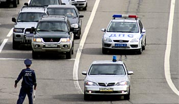 Где в Москве заказать машину ГИБДД для сопровождения?