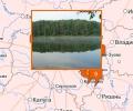 Озера в Москве и Московской области