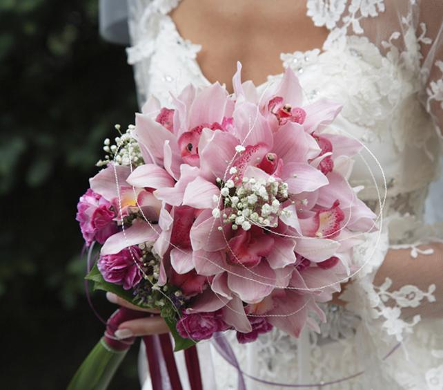 Купить свадебный букет для невесты в Москве