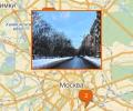 Седьмой Ростовский переулок в Москве