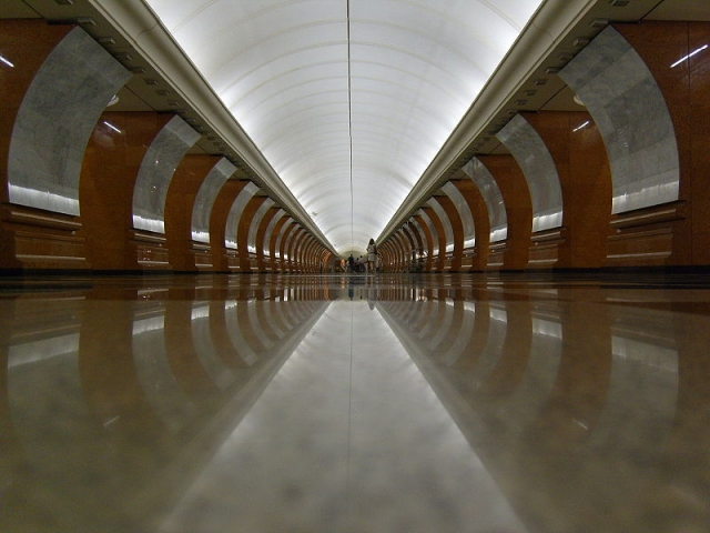 Самые глубокие станции метро в Москве