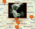 Где находятся кладбища в Москве?