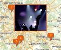 Где находятся ночные клубы в Москве?