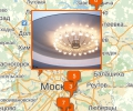 Как выбрать люстру для натяжного потолка в Москве?