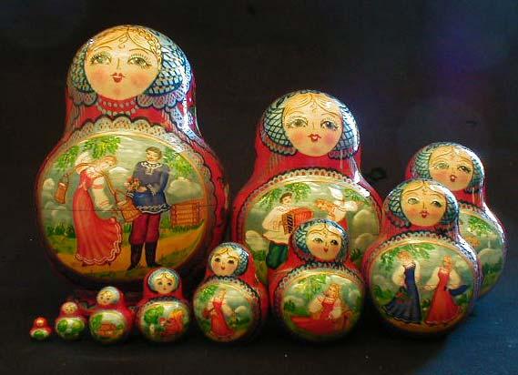 Где купить матрешки в Москве?