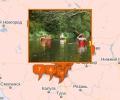 Где проходят маршруты сплавов на байдарках в Москве и Подмосковье?