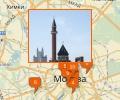 Где находятся различные храмы в Москве?